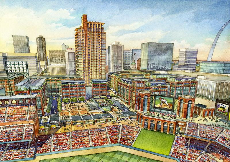 Image result for phase two, ballpark village, st. louis