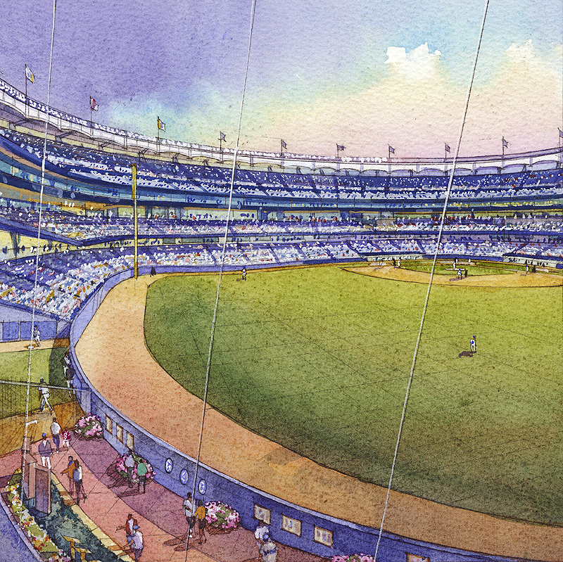 YANKEE STADIUM - Batters Eye Concept